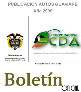imagen alusiva a  Publicación Autos 2009 Guaviare