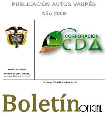 imagen alusiva a  Resoluciones Vaupés Año 2009