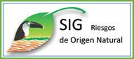 Gráfica alusiva a logo de SIG / Riesgos de Origen Natural Jurisdicción CDA