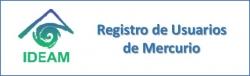 Gráfica alusiva a logo de Registro de Usuarios de Mercurio