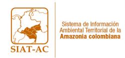 Gráfica alusiva a logo de Sistema de Información Ambiental Territorial de la Amazonia Colombiana