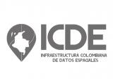 gráfica alusiva  a logo de ICDE