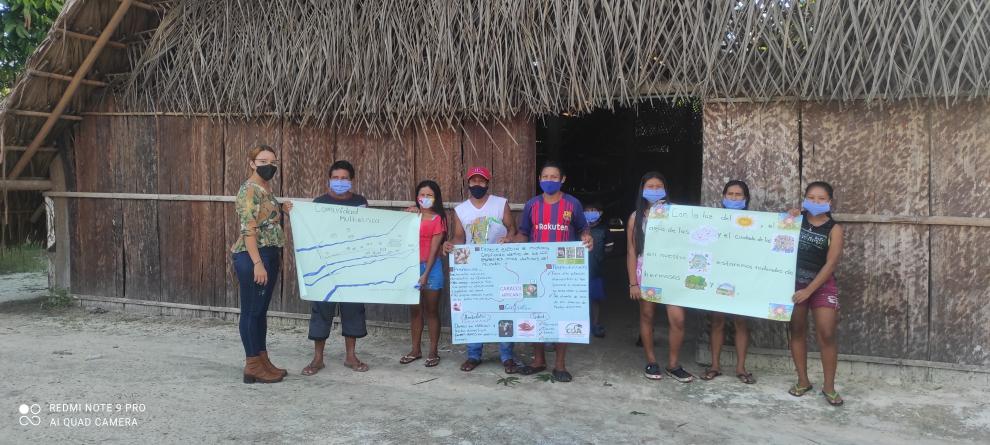 Gráfica alusiva a la noticia La Corporación CDA capacita a la comunidad de Taraira en sostenibilidad y conservación de las principales fuentes hídricas