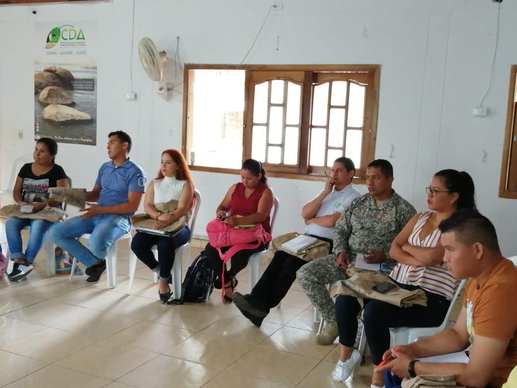 imagen alusiva a  Primera reunión ordinaria Comité Interinstitucional de Educación Ambiental (CIDEA) Guainía