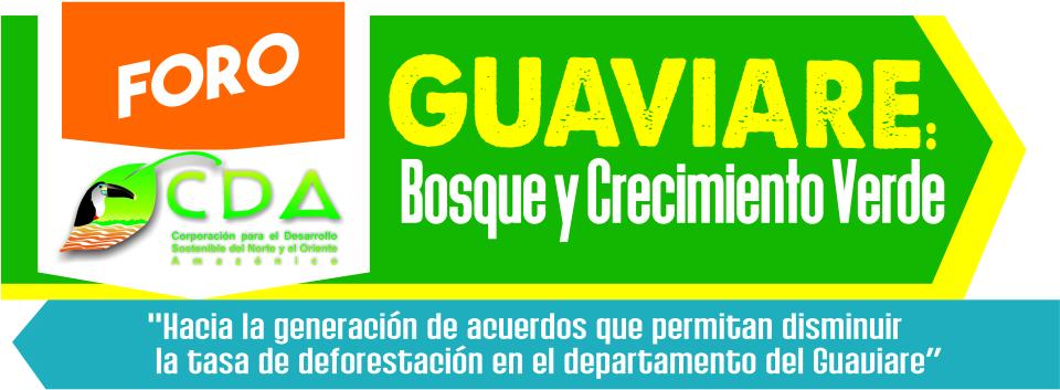 imagen alusiva a  Foro Guaviare: Bosque y Crecimiento Verde