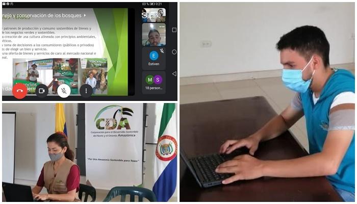 Gráfica alusiva a la noticia Capacitación virtual sobre el uso, manejo y conservación de los bosques a los estudiantes del Colegio Latorre Gómez –INELAG, Municipio de Retorno-Guaviare