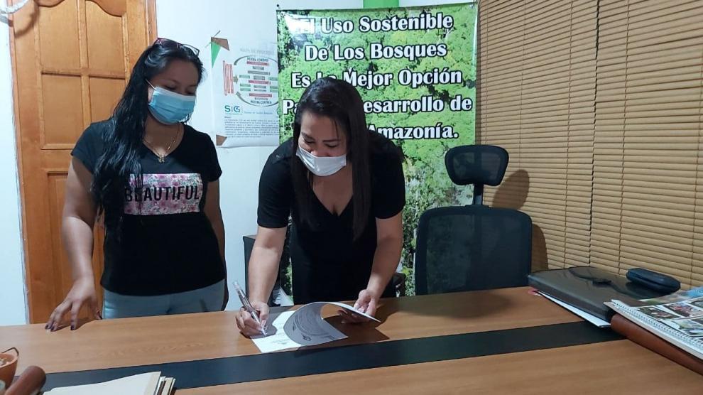 imagen alusiva a  Se firma Convenio interadministrativo con el fin de beneficiar a más comunidades del departamento del Vaupés con el Pago por Servicios Ambientales