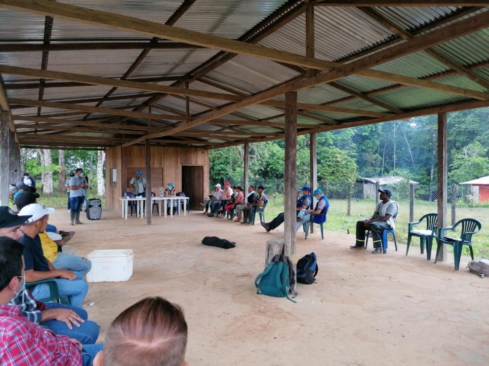 imagen alusiva a  La Corporación CDA y Visión Amazonía dan inicio al escalamiento del Incentivo Forestal Amazónico IFA en el departamento del Guaviare