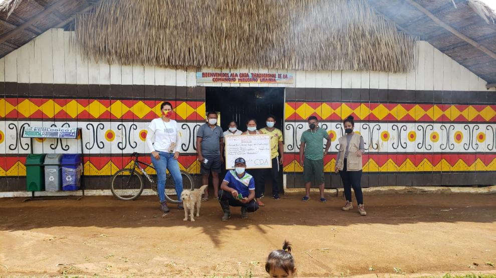 imagen alusiva a   Taller de uso racional de los recursos naturales con base en el cambio climático y las de vivencias propias, con la comunidad de Mituseño Urania, municipio de Mitú Vaupés.