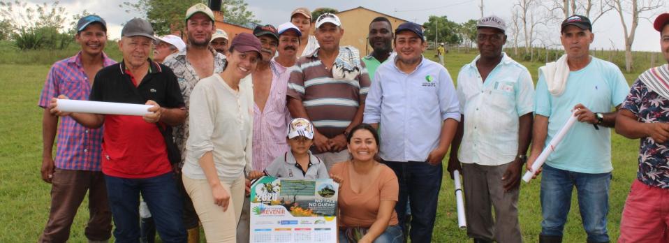 imagen alusiva a  Planes de Manejo Forestal Comunitario para el aprovechamiento sostenible del Bosque, la invitación de la CDA a campesinos productores de la región