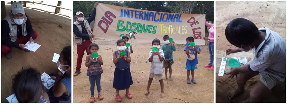 Imagen alusiva a NIÑOS ECOCLUB VAUPES, CELEBRARON  EL DIA INTERNACIONAL DE LOS BOSQUES TROPICALES